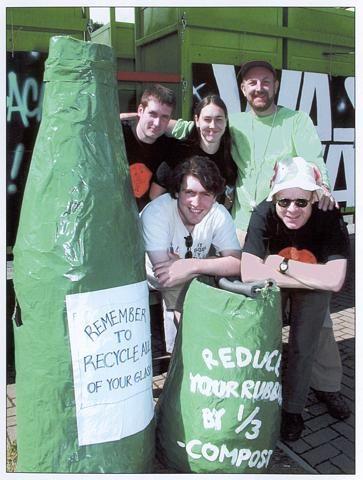 The fantastic BRAG team!! - Brentford Festival, 2001