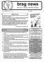 BRAG Newsletter Spring 2004