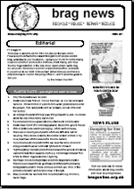 BRAG Newsletter Autumn 2004