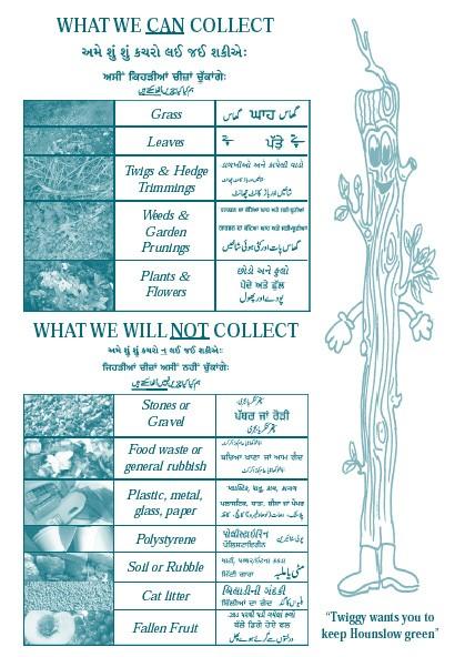 Collecting Garden Waste