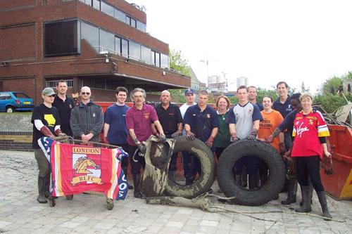 Thames Clean up inBrentford