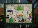 BRAG Notice board in Morrisons' car park