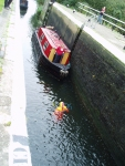 "A ""dead body"" in the lock"